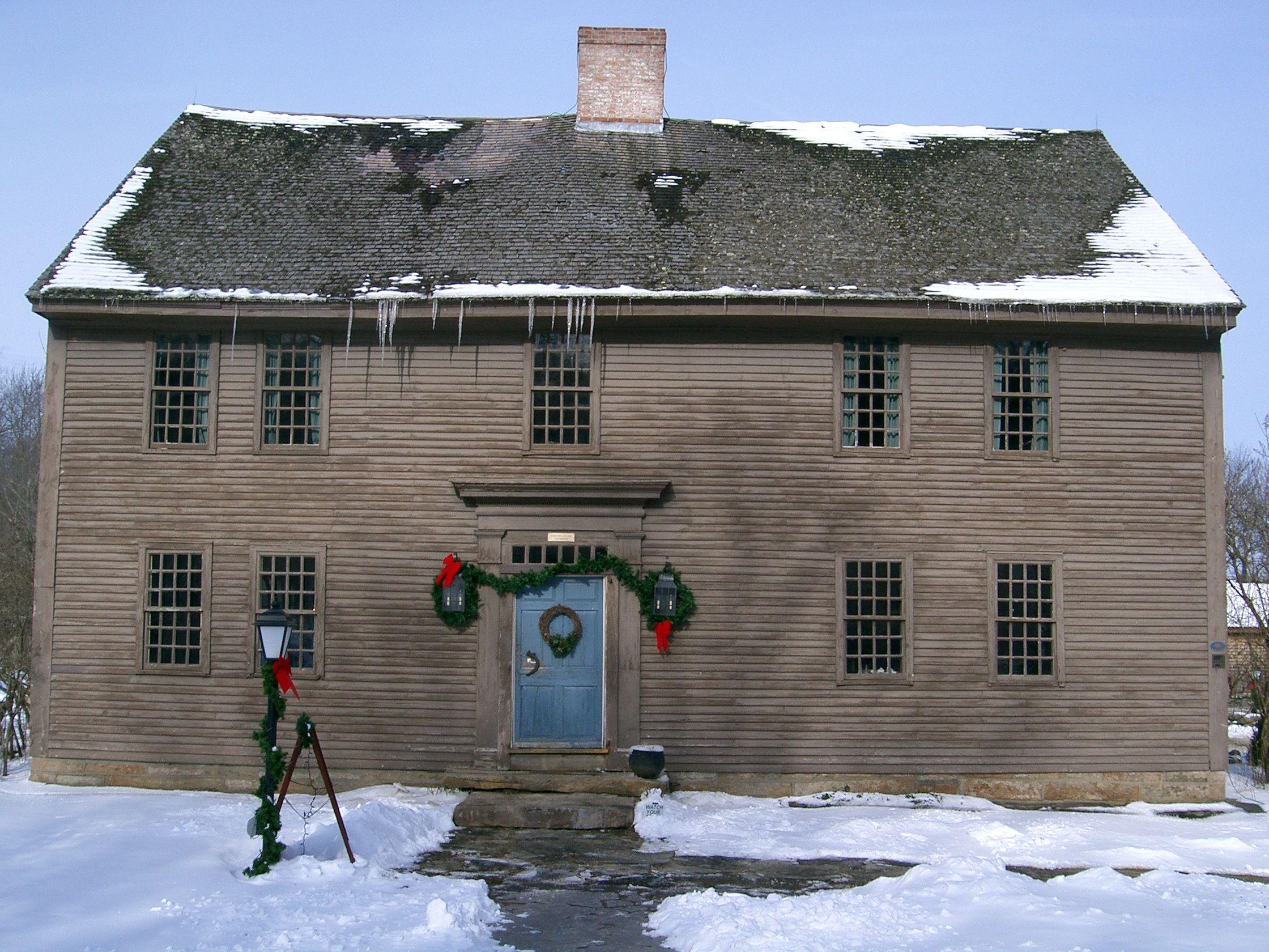 * Underground Railroad Randall's Ordinary House styles
