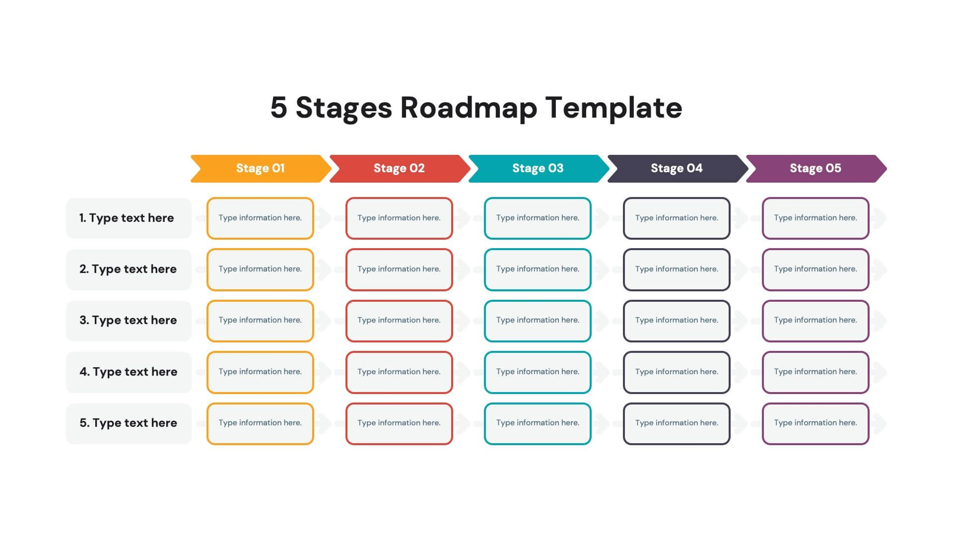 5 Stages Roadmap Powerpoint Template Free Download Now In 2021 Powerpoint Templates Roadmap Template Powerpoint