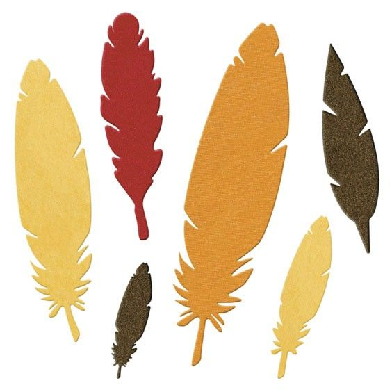 Quickutz dies feathers - Google Search