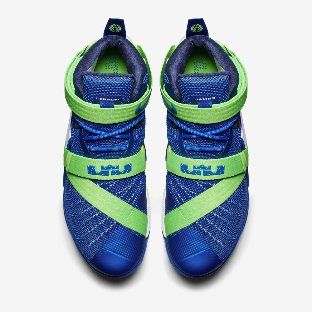 buy popular f0f09 c48d8 Nike LeBron Soldier 9 Sprite   Sole Collector