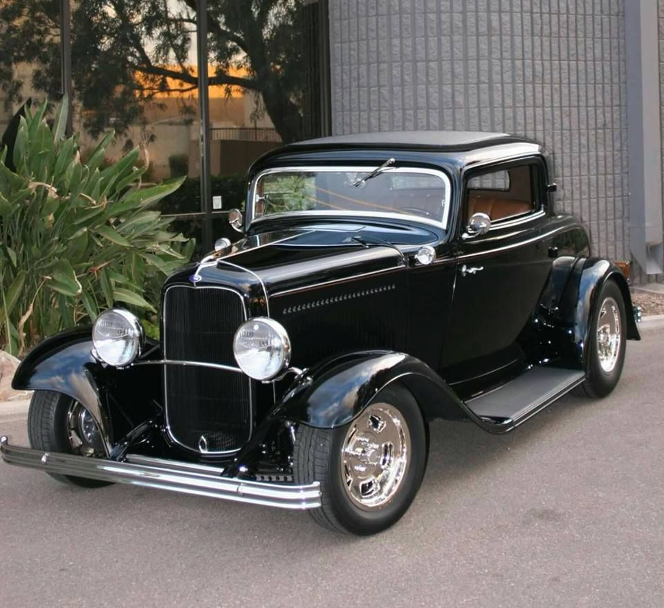 1932 Ford Coupe Hot Rods Cars Ford Classic Cars Hot Rod Trucks