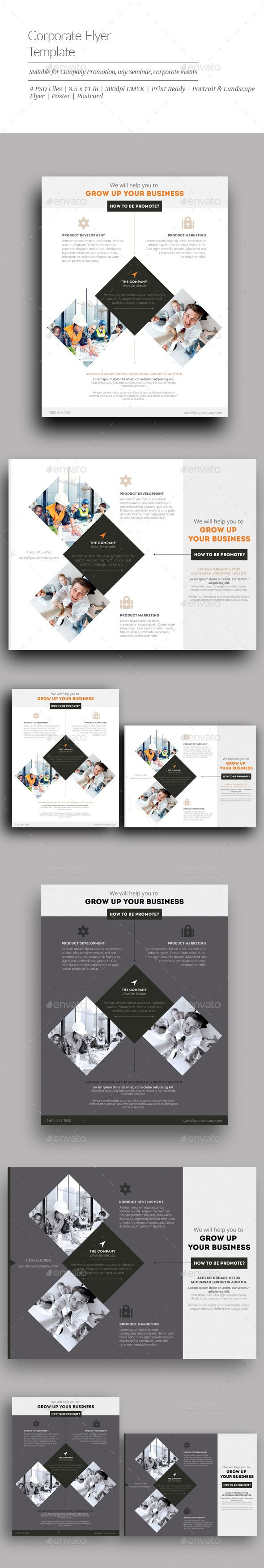 Amazing Custom Flyer Template 10 Best Corporate Flyers