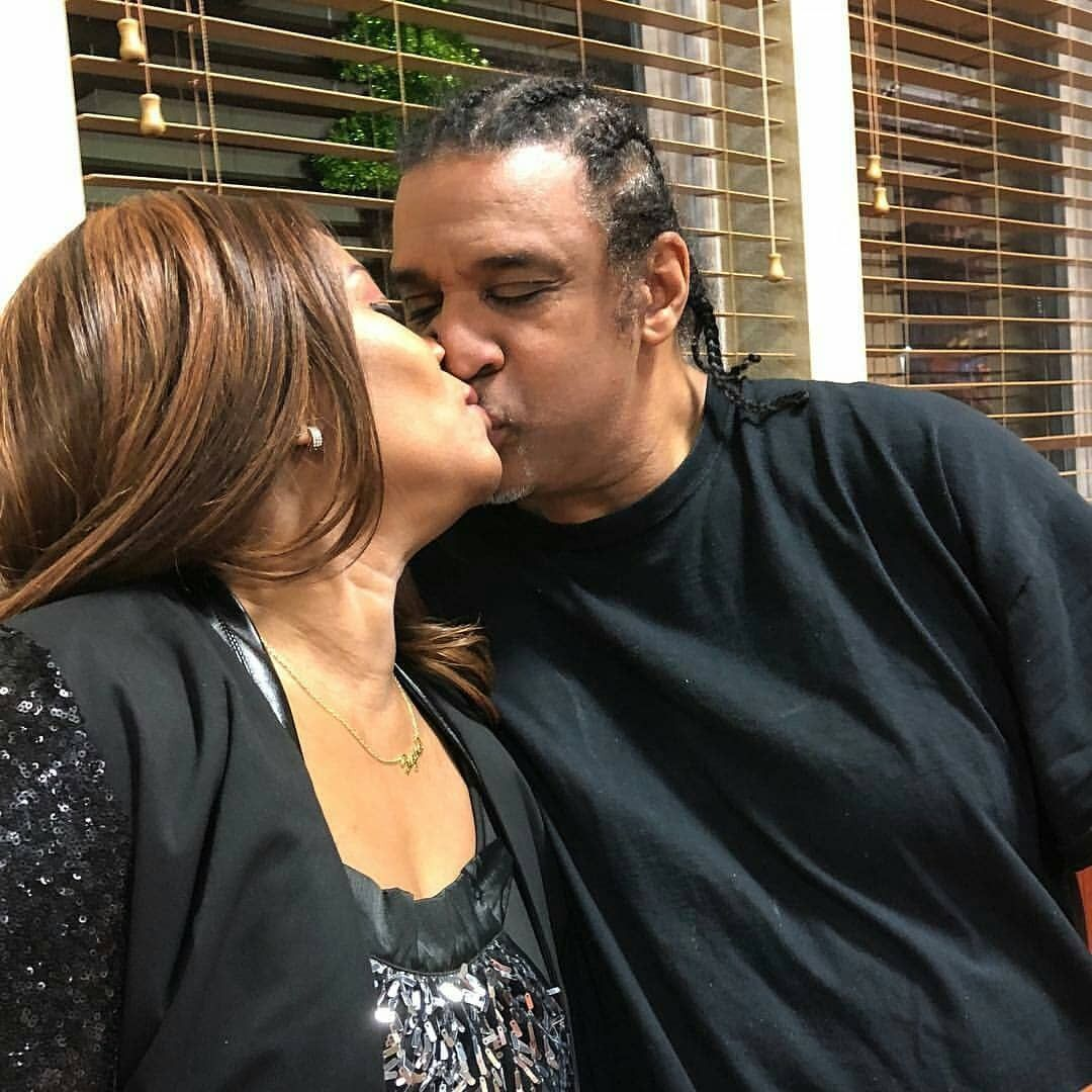 Regina Askia And Her Hubby Share A Kiss As They Celebrate Her 51st