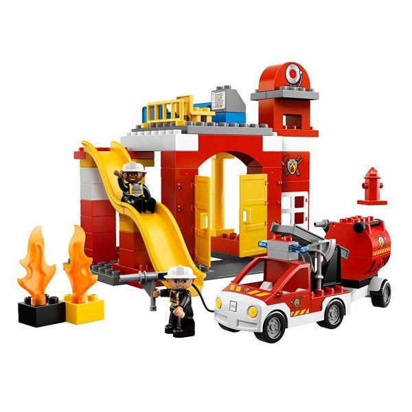 PompiersIdées Lego Cadeaux Jules Des Duplo Caserne 6168 La eEbY9IWDH2