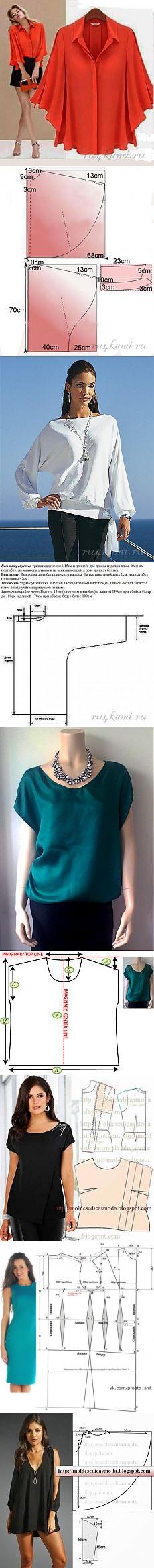 hobby | Patrones de costura | Pinterest | Mi hermana, Costura y Blusas