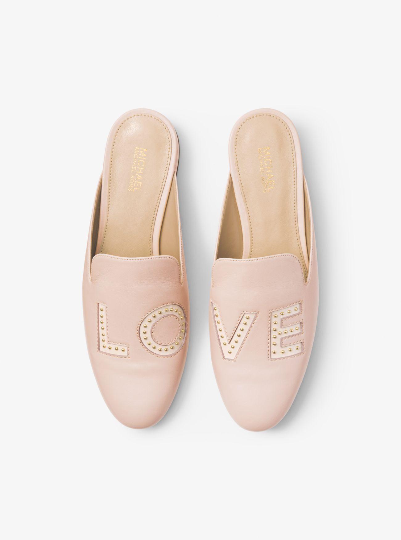 4c65c1486f3c Natasha Love Leather Slide | Shoes | Leather mules, Shoes, Leather