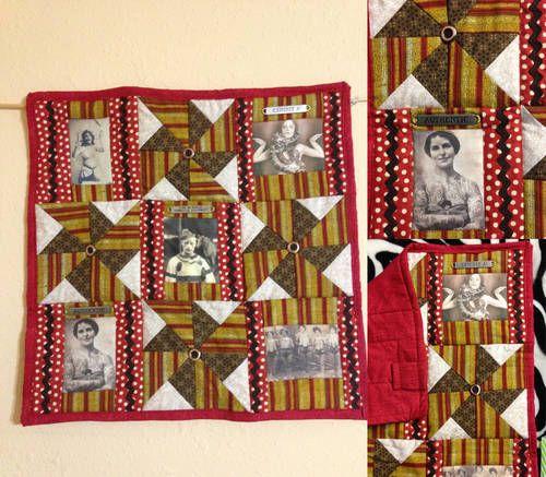 Circus Sideshow mini quilt