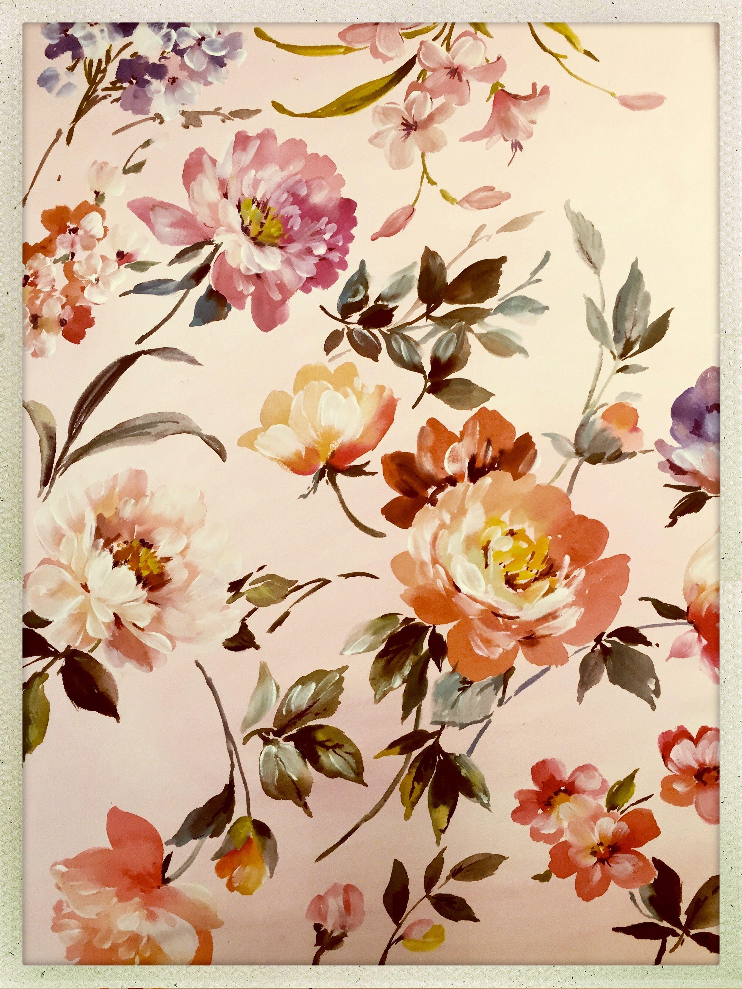 Vintage Floral Pattern Vintage Floral Pattern Floral Prints