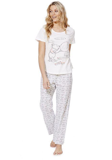 Tesco Direct Disney Winnie The Pooh Pyjamas Clothes Women Nightwear Fashion Outfits