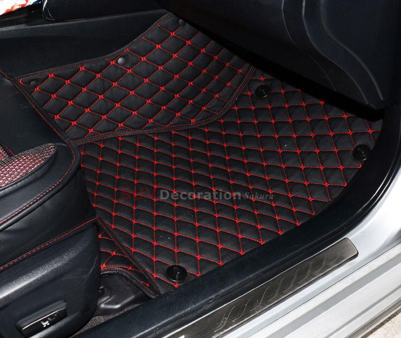 Accessories For Dodge Journey Fiat Freemont 7seats JC 2010-2017 2015 2016 Inner Floor Mats