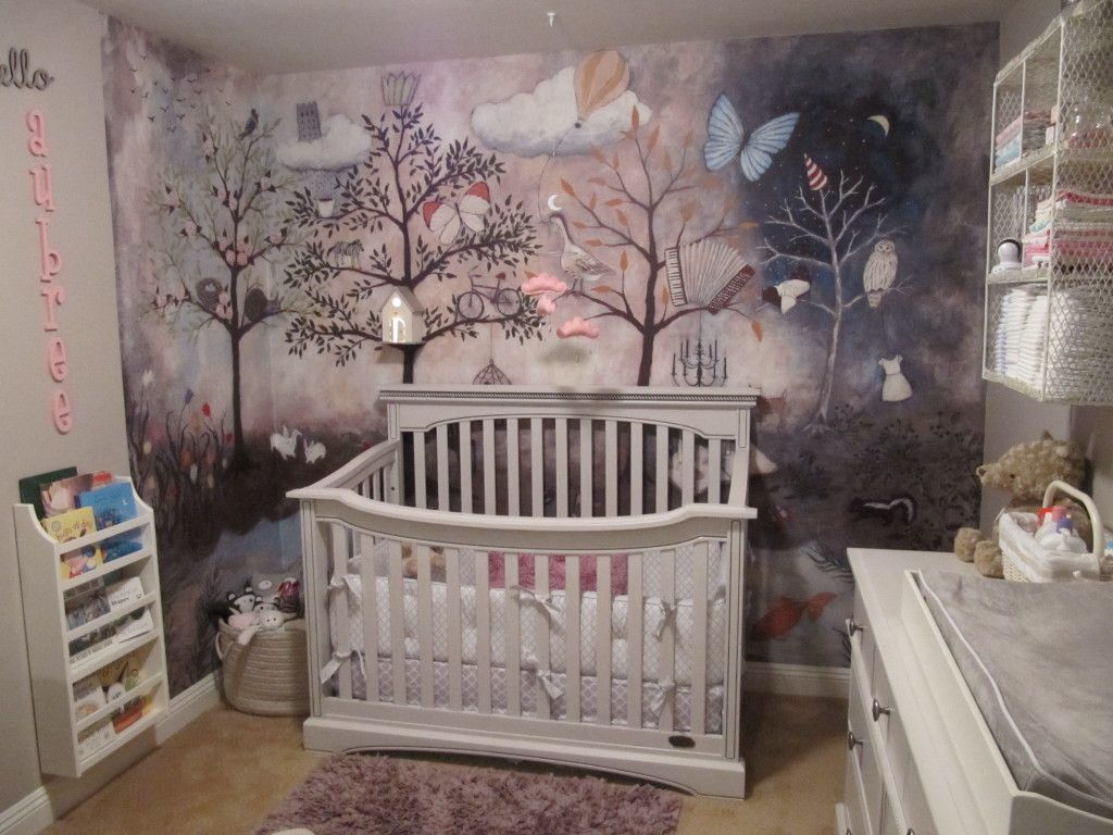 Aubree S Enchanted Forest Nursery Project