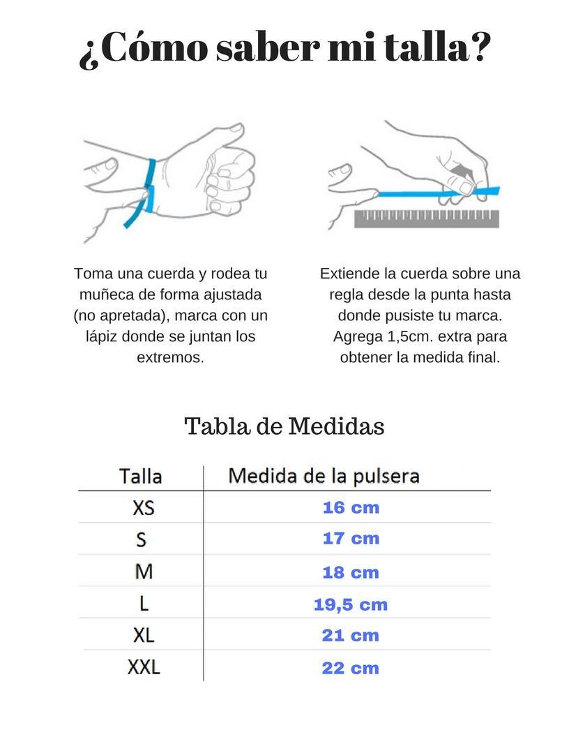 98e439ae7 Resultado de imagen para medidas para hacer pulseras mujer