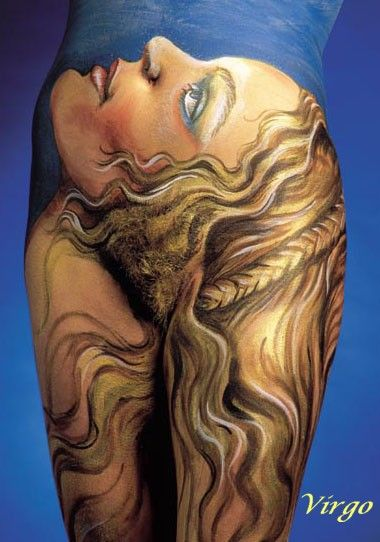 Body Painting Virgo