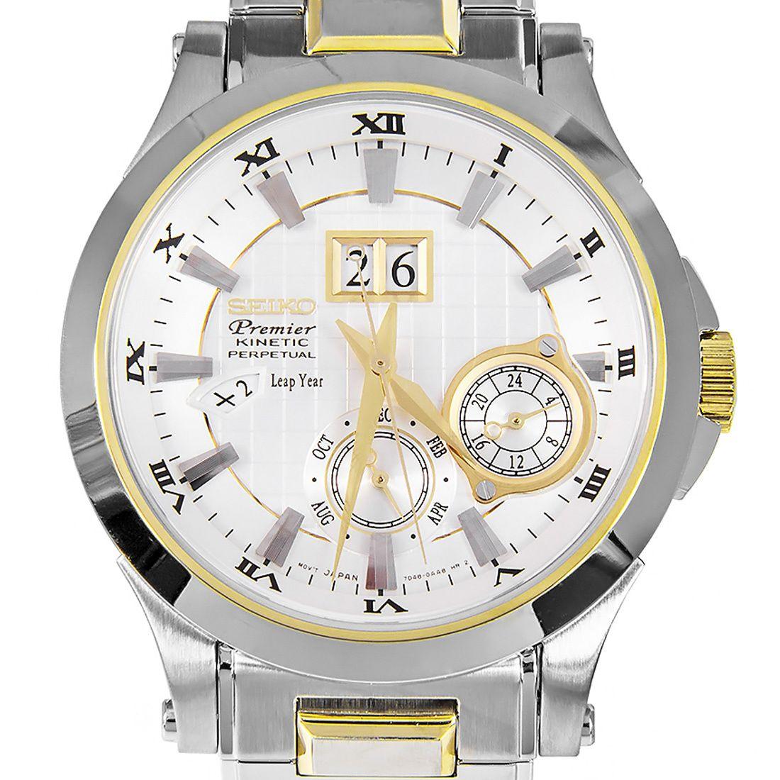 snp004p1 snp004p snp004 seiko men premier kinetic watch montre pinterest horlogerie et montres. Black Bedroom Furniture Sets. Home Design Ideas