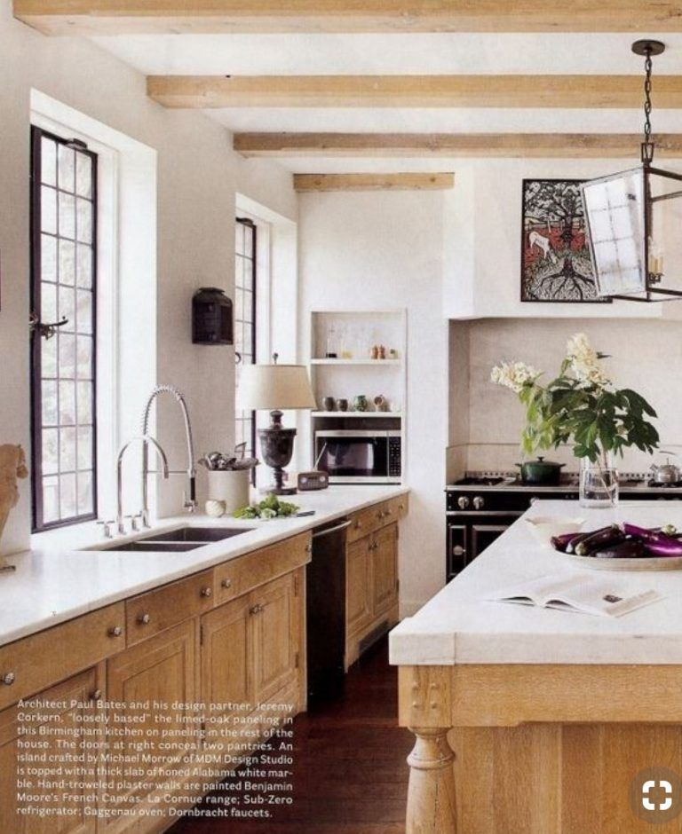 Kitchen Cabinets Stained Light: Timeless Kitchens: 11 Kitchens With Stained Cabinets