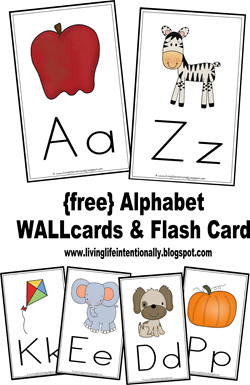 letter b printable alphabet flash cards for preschoolers alphabet wall cards on alphabet cards 340