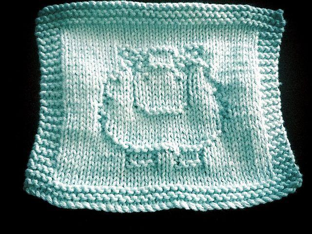 Ravelry: Sheep Washcloth pattern . Free download. | knitting ...