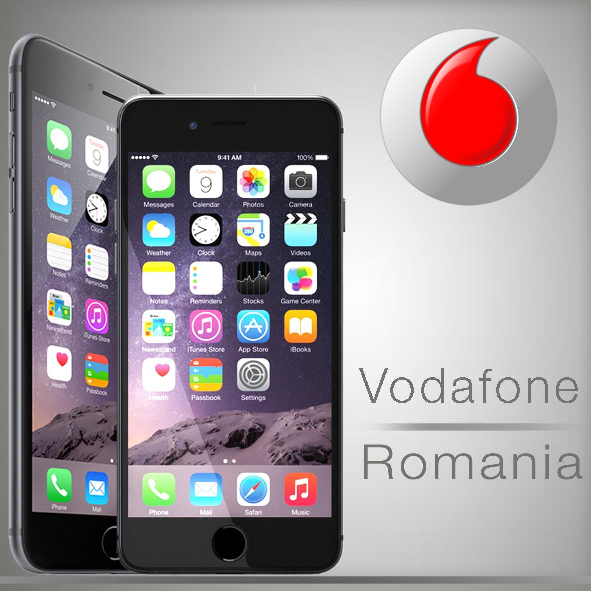 Unlock Vodafone Romania iPhone 6 Plus 6 5s 5c 5 4s 4