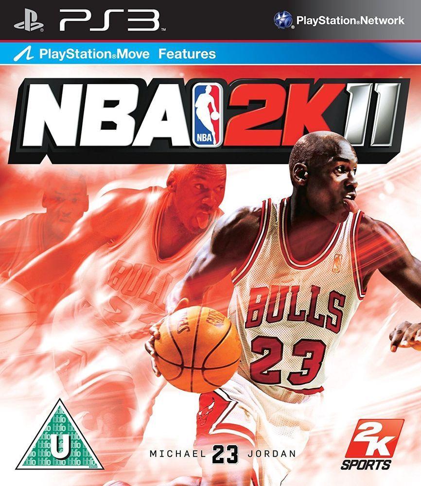 NBA 2K11 PS3 (Sony PlayStation 3, 2010) 2K