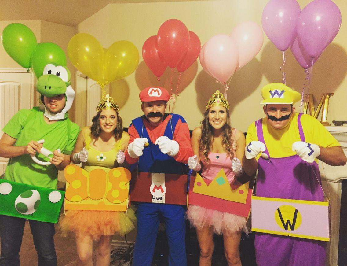 Costume ideas for groups - Halloween Costume Mario Kart Group