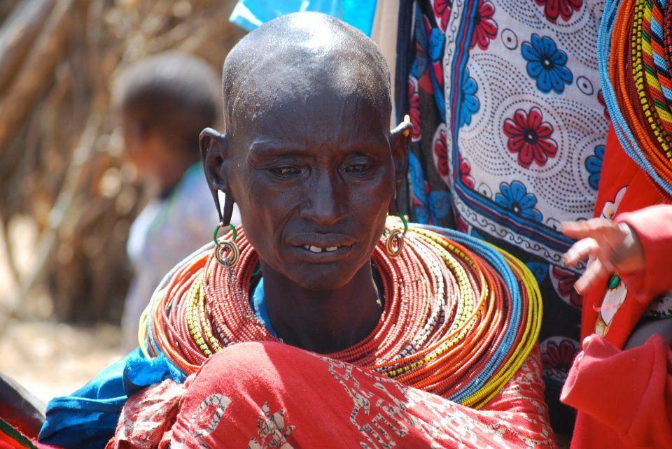 Woman in Kenya (Photo: Peaks Foundation)