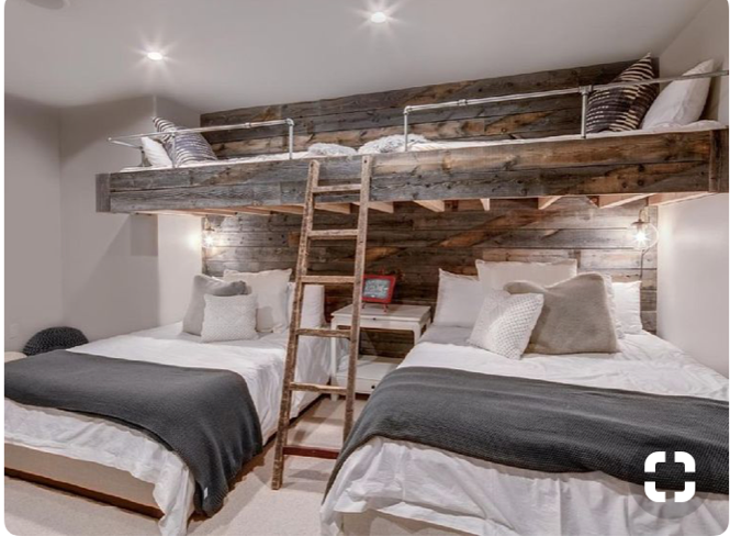 Could We Put Two Full Beds With Twin Beds Above In The Bunk Room Could Sleep A Whole Family Or A Bunch Of Bunk