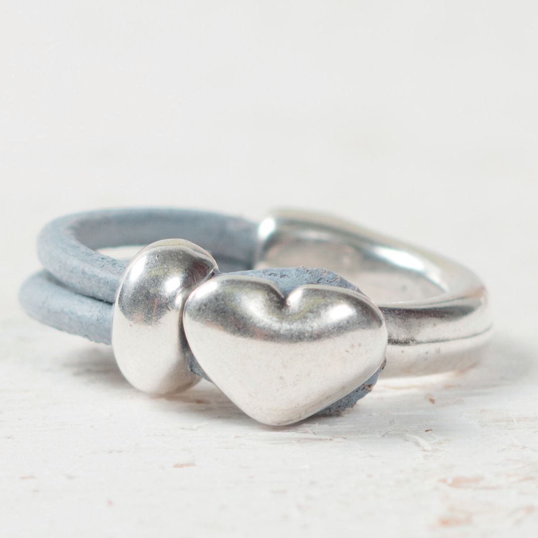 Diy Ring Aus Leder Und Metall Lederring Leathertools