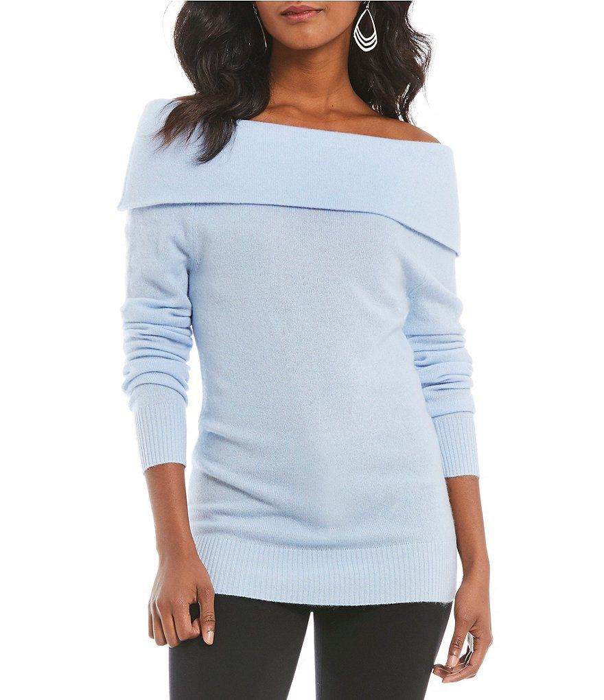 959a40e2fb99 Shop for Antonio Melani Tiffany Off The Shoulder Cashmere Sweater at ...
