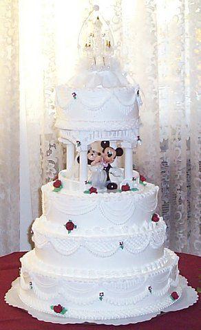 Disney Princess Themed Wedding Cakes Bing Images Mickey