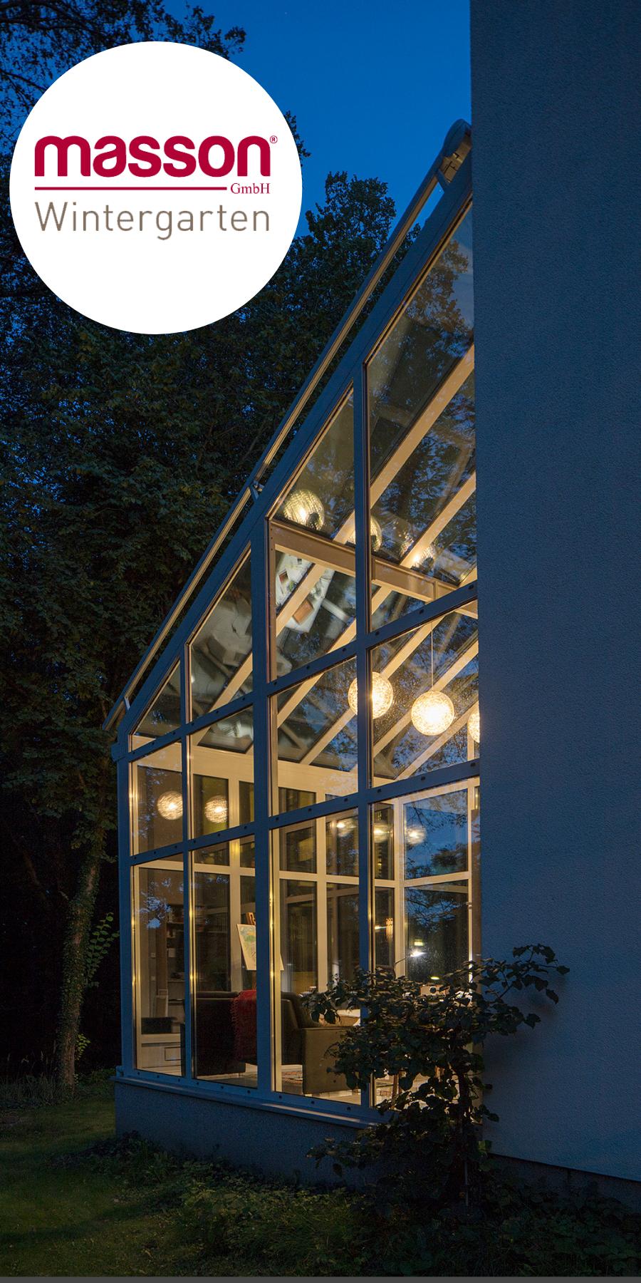 Auch Bei Nacht Sind Die Wintergarten Mit Der Richtigen Beleuchtung Echte Hingucker Wintergarten Terrassendach Garten