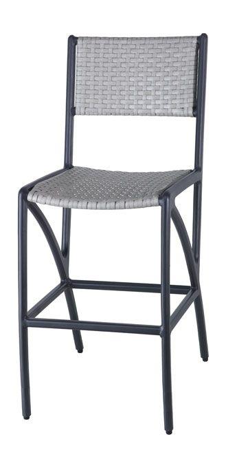 Miraculous Amari Woven Stationary Bar Stool Gensun Boulder Junction Machost Co Dining Chair Design Ideas Machostcouk