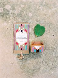 Southwest Inspired Wedding Inspiration with Aztec Influence - Style Me Pretty