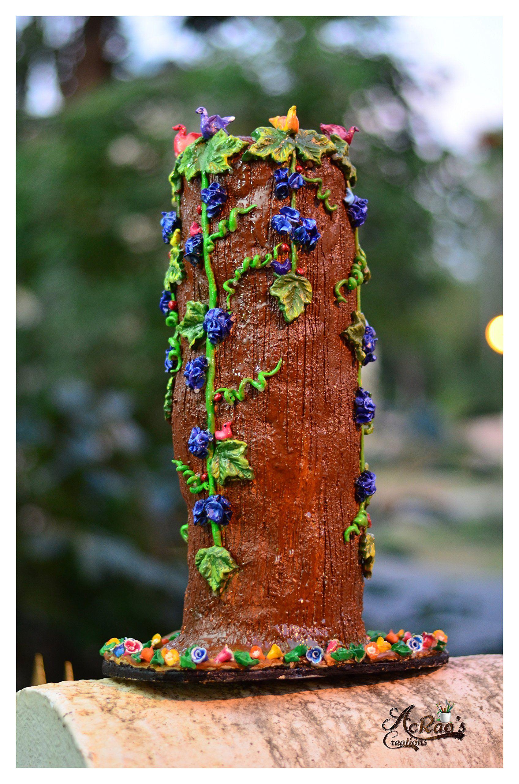 Wood log theme flower vase decorative case clay vase home decor wood log theme flower vase decorative case clay vase home decor wedding gift unique themed flower vase wood log this unique themed flower vase is made of reviewsmspy