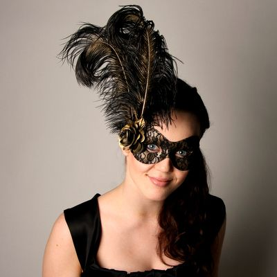 Buy online Masquerade Masks Feather Masks &more types of masks for functions at Samantha Peach, UK
