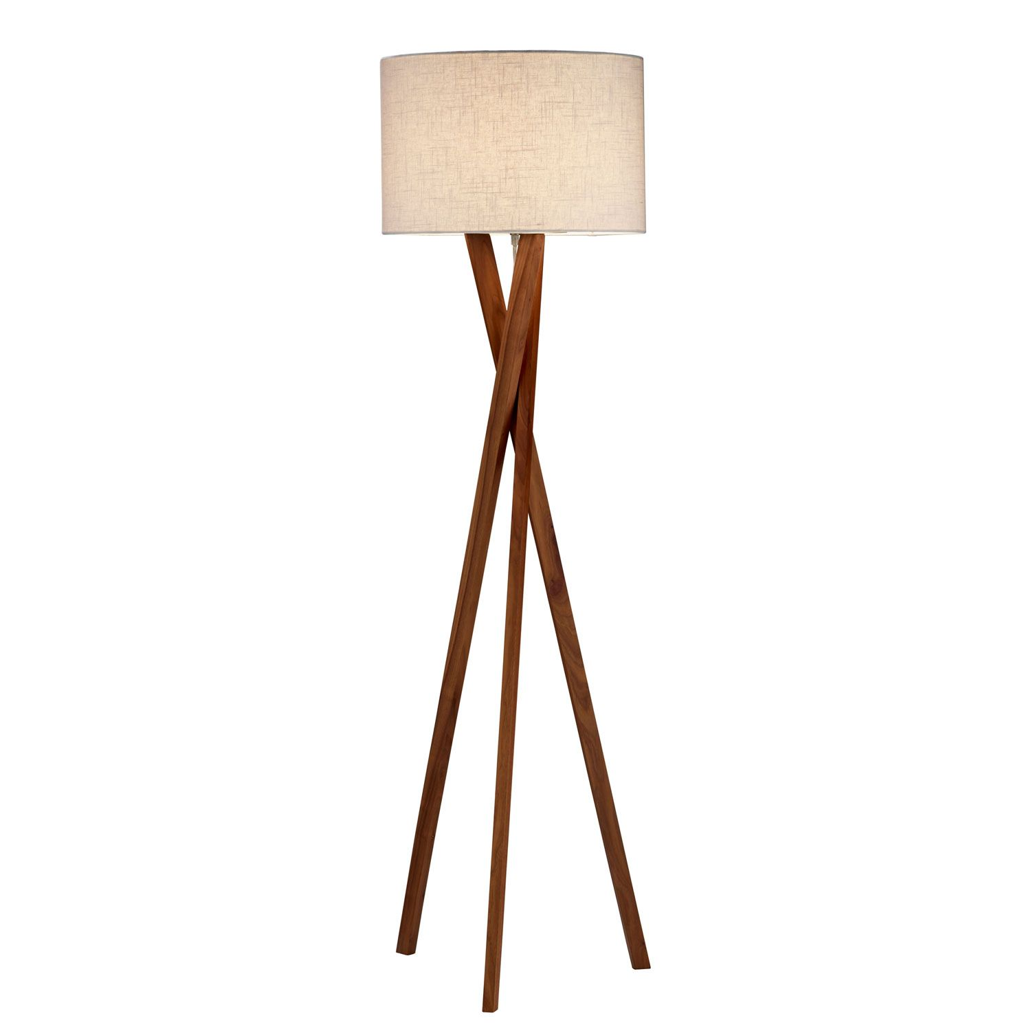 Walnut Wood Tripod Austin Floor Lamp Base Saferbrowser Yahoo