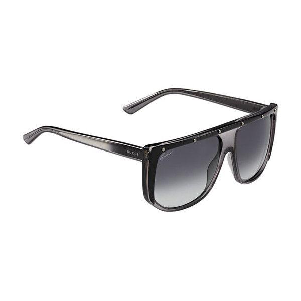 8e29fdd55e3 Gucci GG 3705 S HXT HD Sunglasses ( 190) via Polyvore featuring accessories