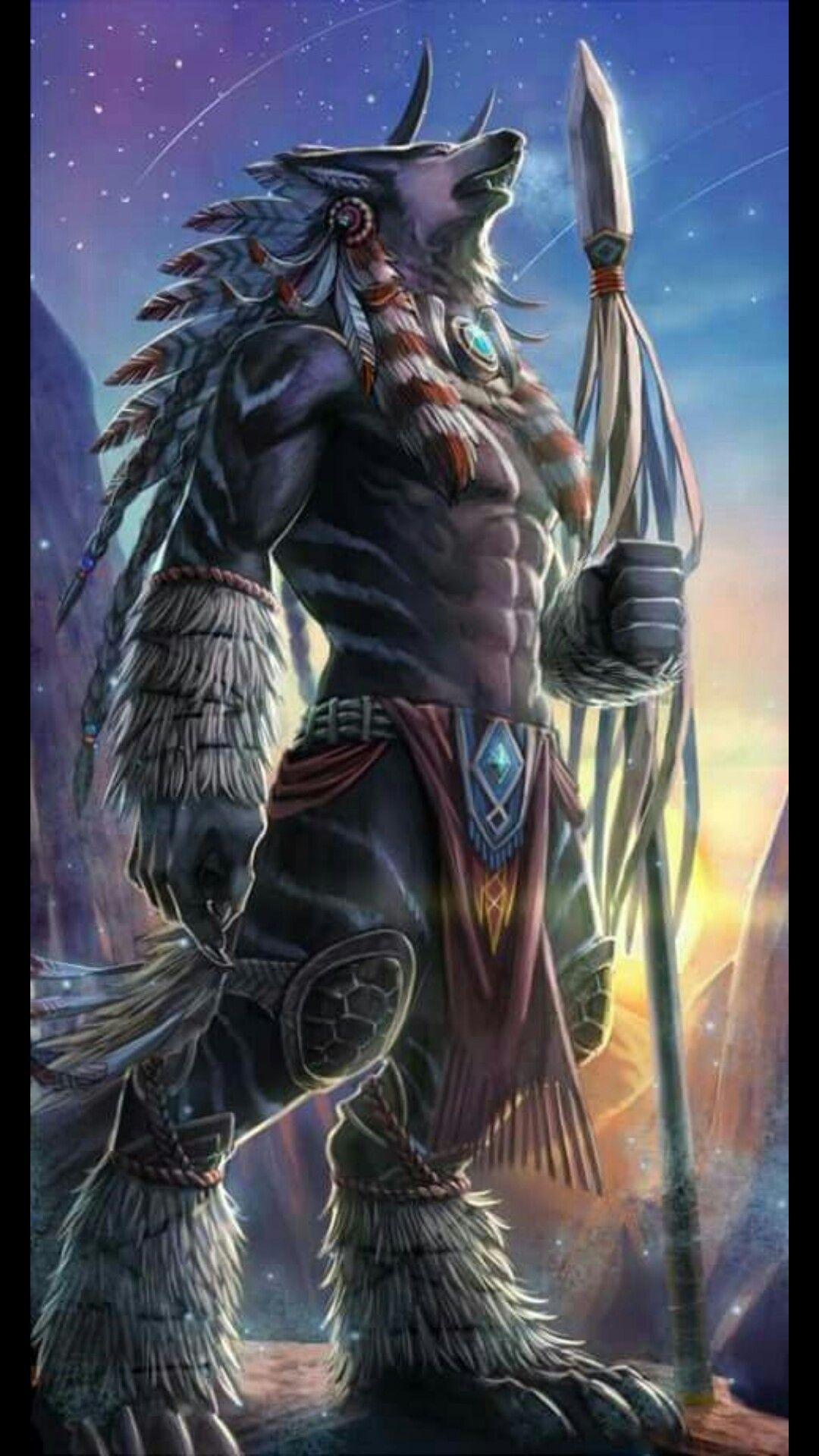 Werewolf | Werewolves / Lobisomens | Pinterest | Wolf ... Werewolf Warrior Art