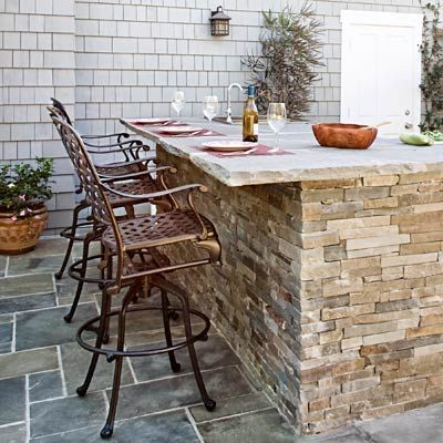 read this before you put in an outdoor kitchen | stone veneer
