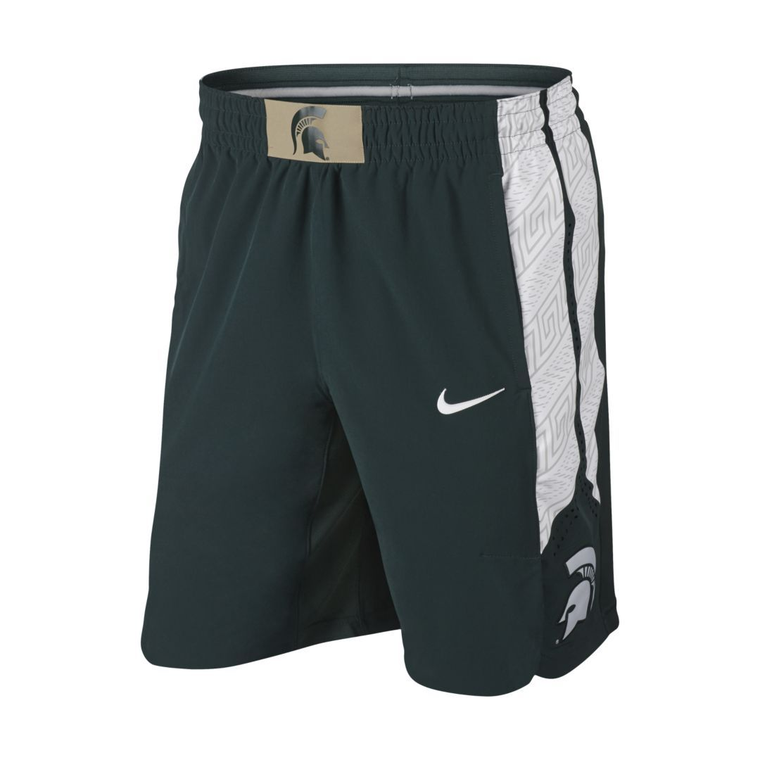 watch 38ddd 09640 College Authentic (Michigan State) Men's Basketball Shorts ...