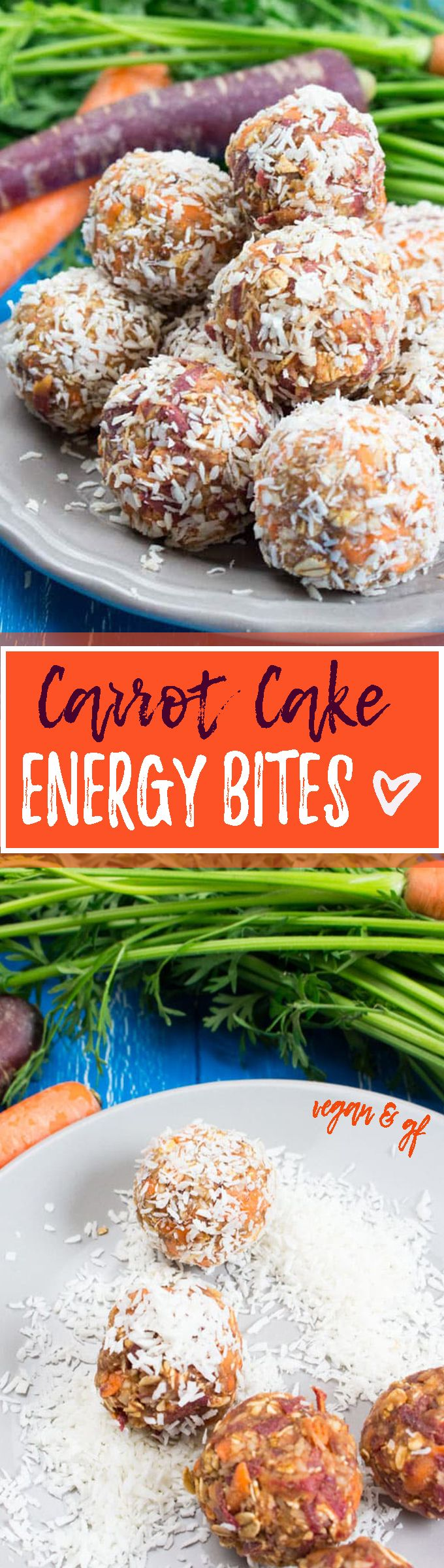 Photo of Carrot Cake Energy Balls