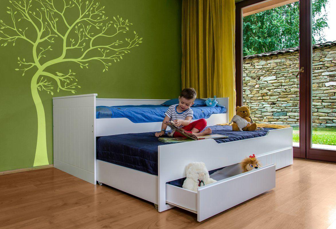 Funktionsbett Keewatin Mit Schubladen 90 X 200 Cm Funktionsbett Bett Mit Stauraum Kinder Bett