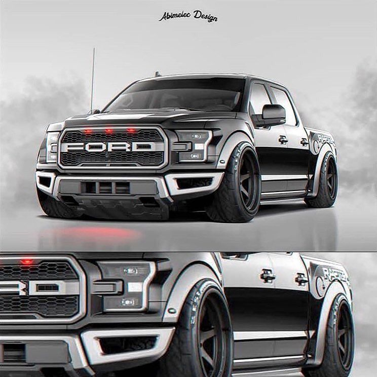 Yay Or Nay Never Seen A Ford Raptor Slammed Ford Raptor Ford Trucks F150 Ford Pickup Trucks