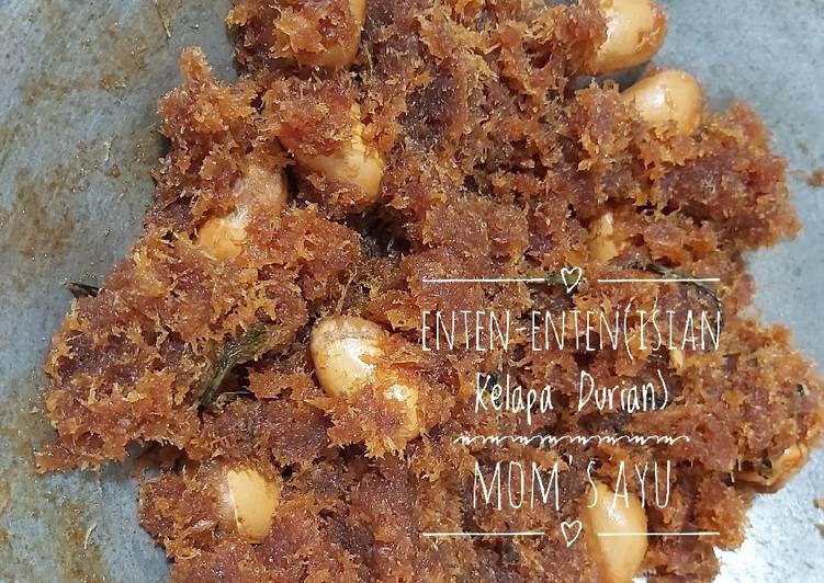 Tutorial Mengolah 80 Enten Enten Isian Kelapa Durian Gurih Resep Us Resep Kelapa Resep Kacang
