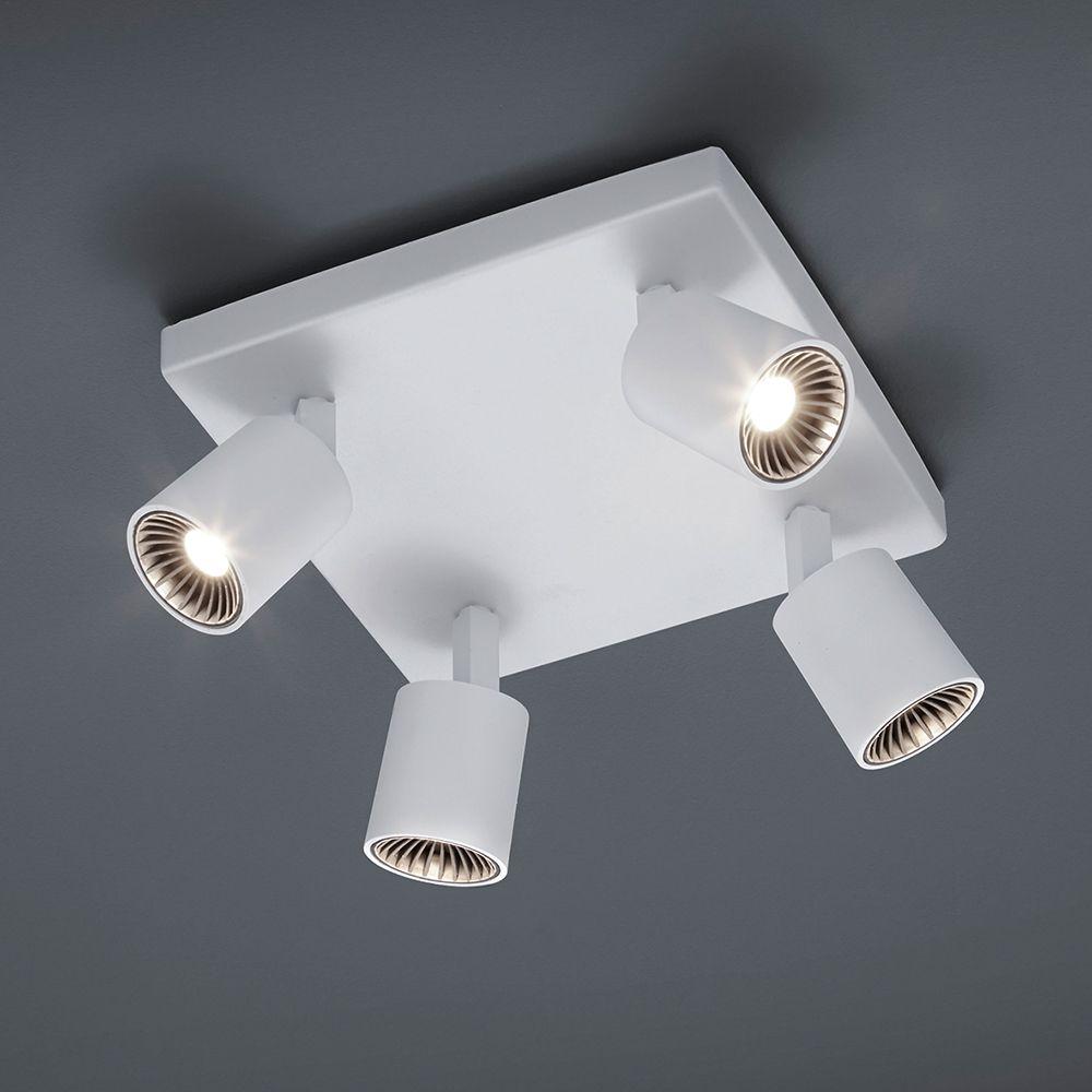 LED-Deckenleuchte Rondell mit 4 OSRAM-Strahler | Led deckenleuchte ...