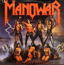 Manowar Cover Album Heavy Metal Rock And Roll Arte Do Rock Heavy Metal