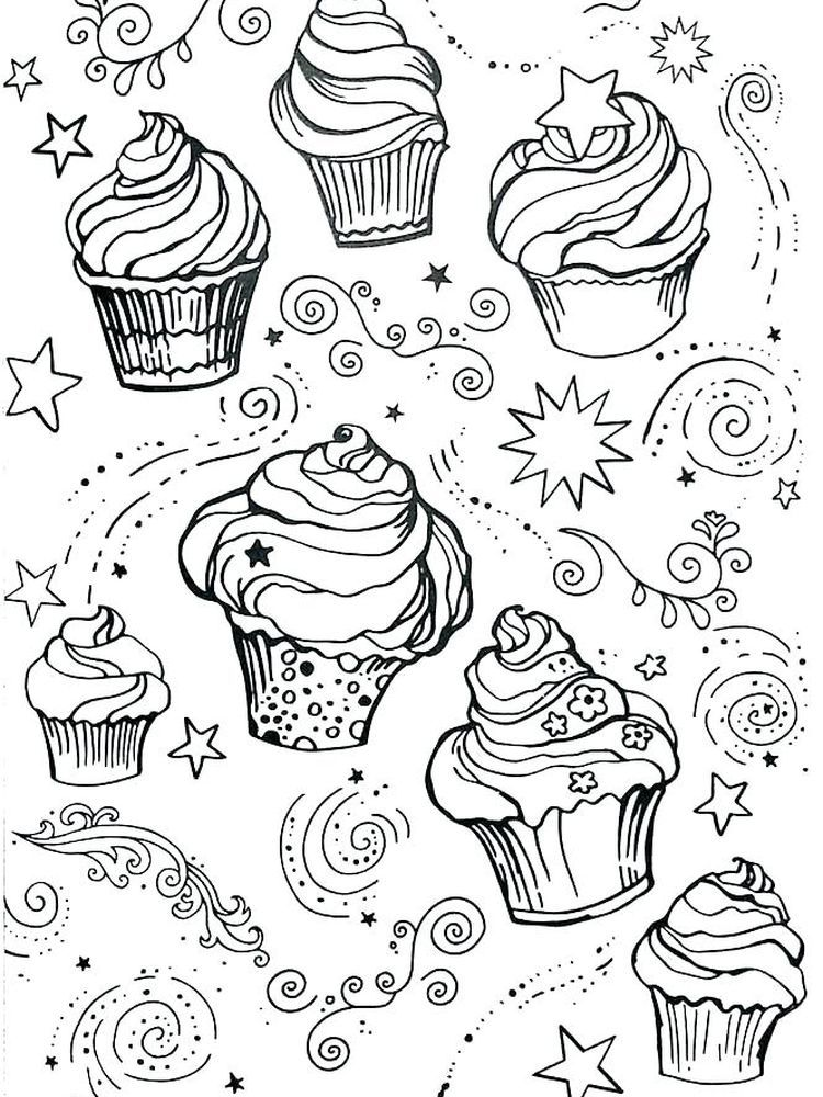 Free Printable Cupcake Coloring Pages For Kids Cupcake Coloring Pages Coloring Pages Coloring Pages For Kids