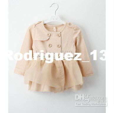 Wholesale Kids Clothing - Buy Baby Girl Infant Toddler Lace Trench Coat Tutu Dress Cardigan Sweaters Outfits Coat Hoodie Jacket 5, $13.43 | ...