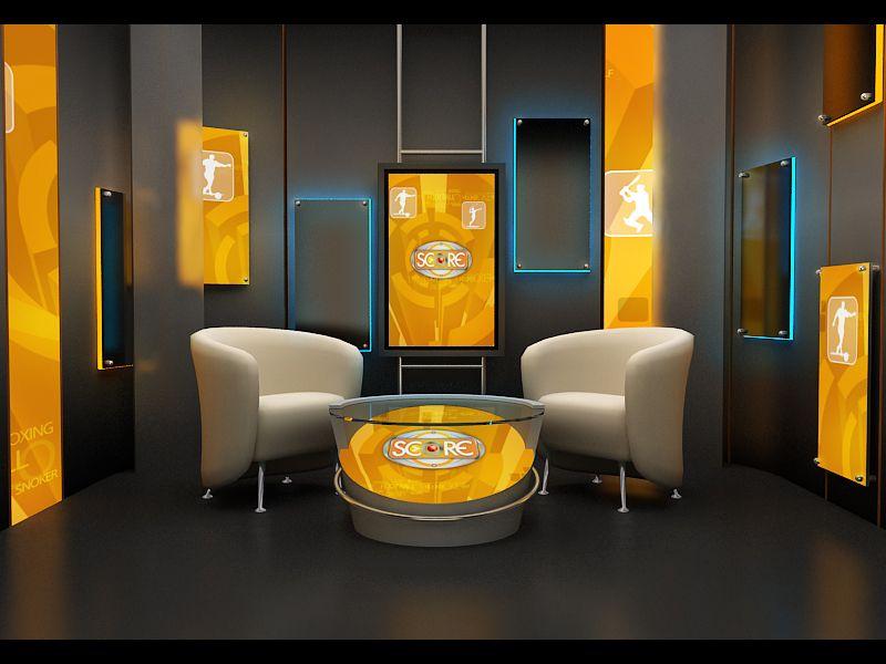Design Shows On Tv Stunning Broadcast Designgrafix Gold At Coroflot  Set Design Design Decoration