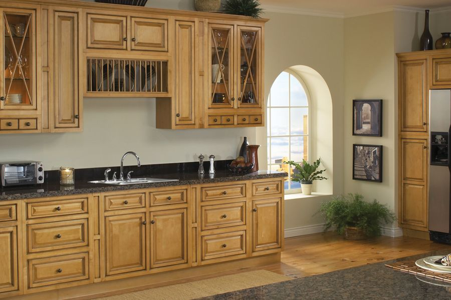 Vintage Estate Kitchen Cabinet Lines  Kitchens Wood kitchen cabinets and Woods