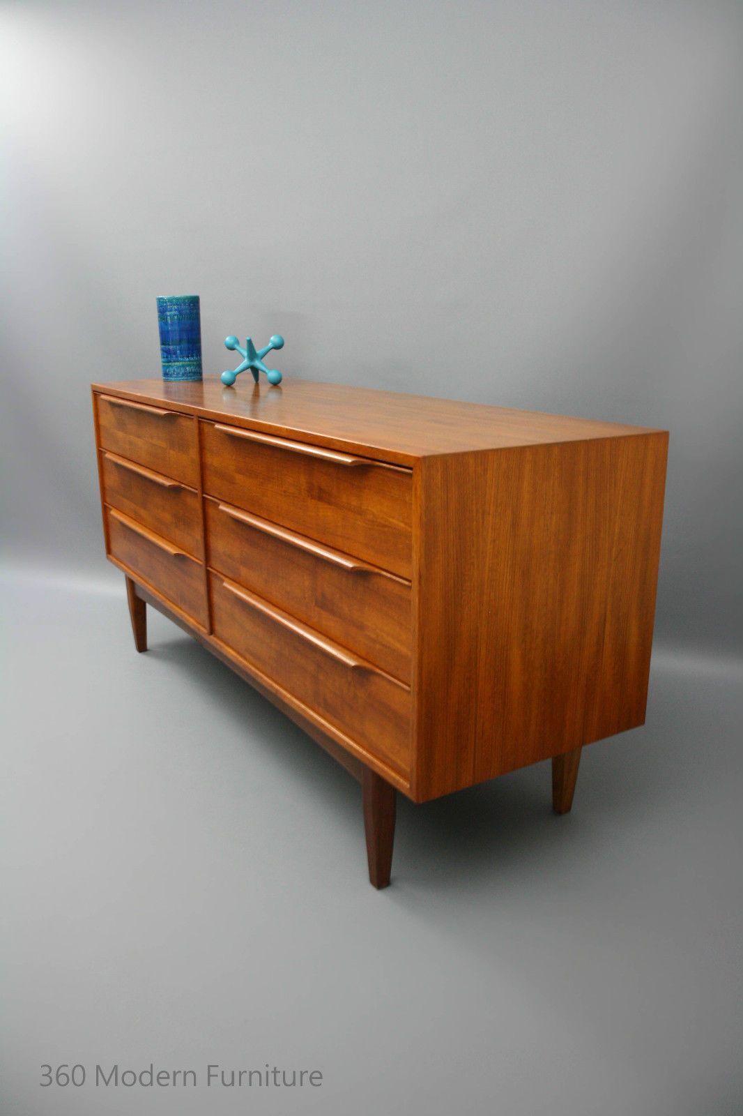teak retro furniture. MID CENTURY Modern Sideboard Drawers Lowline Hayson, Cliff Hayton, Teak Retro Vintage Parker Era Furniture O